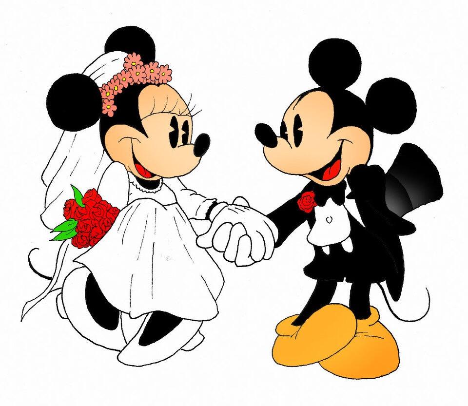 Happy Birthday Mickey  Minnie  dezithinks