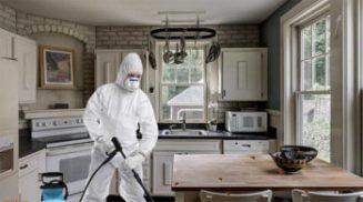 Уборка и дезинфекция помещений