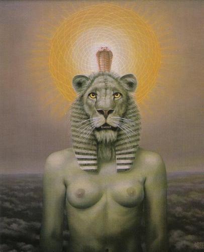 A Deusa Sekhmet,1986