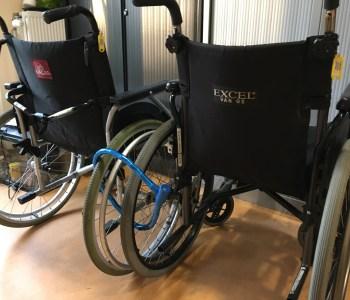 slotjes op de rolstoelen