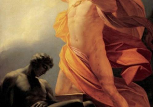 Adunarea de la Mecona şi înlănţuirea lui Prometeu