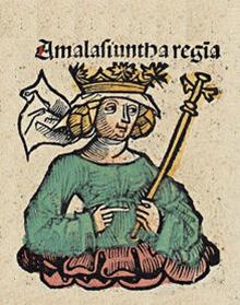 Amalasonta, regina ostrogotă nefericită