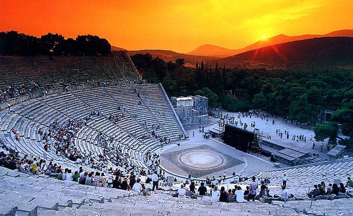 teatrul grec