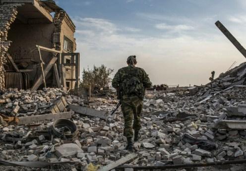 Un american luptă în Donbas contra naziştilor (1)