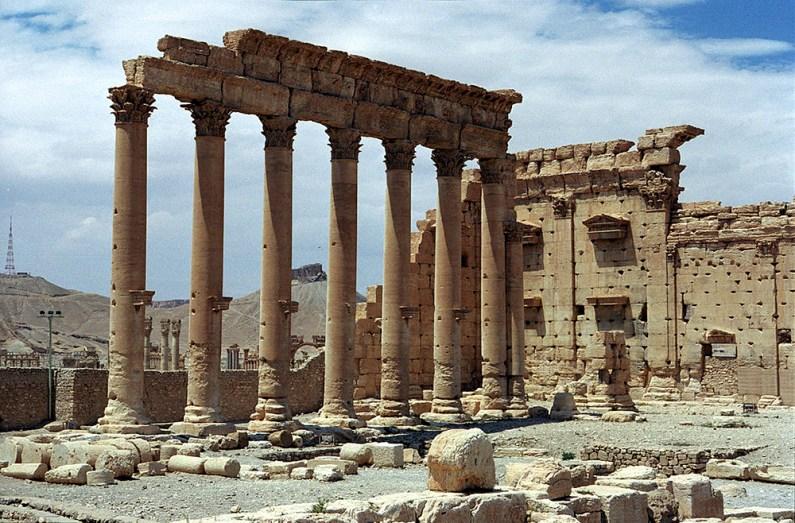 Extremiştii au intrat în anticul Palmyra (1)