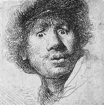 Rembrandt gravura