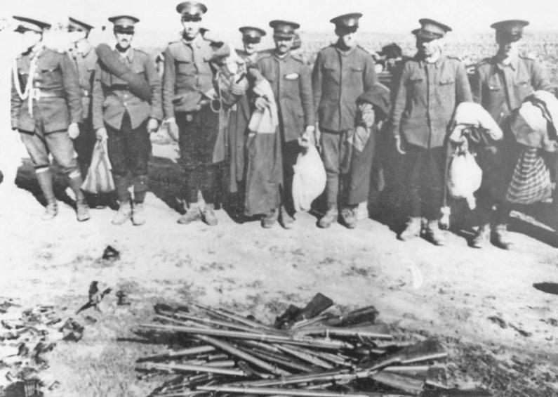 1940-jandarmi-romani-dezarmati-de-sovietici-in-Basarabia