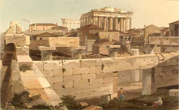 Parthenonul in Evul Mediu