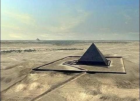 Una dintre piramidele egiptene a explodat acum 12.000 de ani