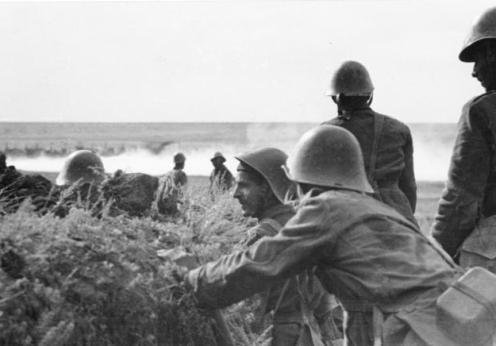 Russland-Süd, rumänische Soldaten
