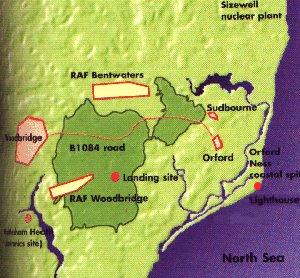 Harta cu localizarea incidentului autor hartă Bluewave, sursa Wikipedia