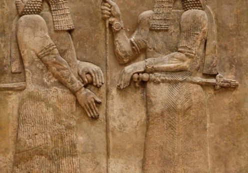 sargon_ii_and_dignitary