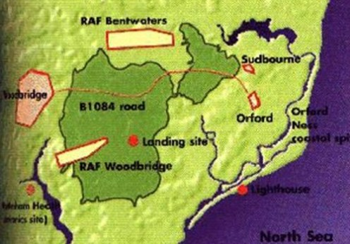 Incidentele de la Woodbridge Rendlesham, 1980 2