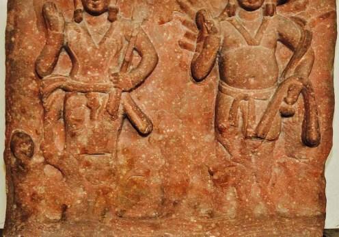 Karttikeya_and_Agni_-_Circa_1st_Century_CE_-_Katra_Keshav_Dev_-_ACCN_40-2883_-_Government_Museum_-_Mathura_2013-02-23_5717