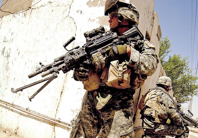 Răpire în masă a unui batalion militar american