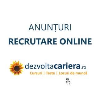 Anunturi recrutare online