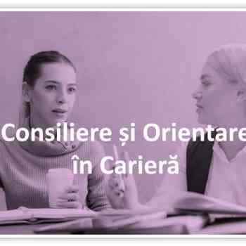 consiliere și orientare în carieră / consiliere vocațională