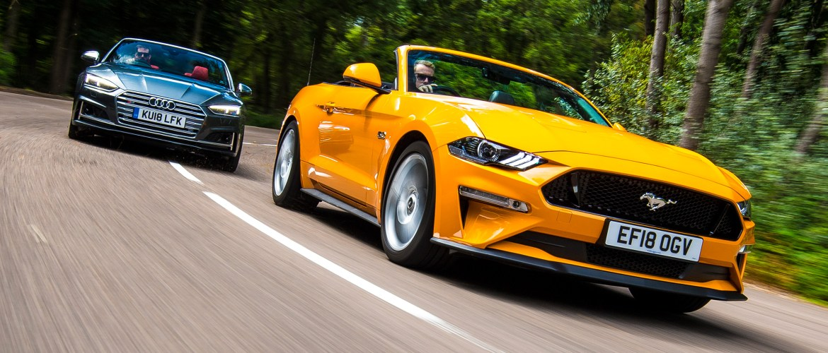 Ford Mustang Convertible vs Audi S5 Cabriolet – ALL NEWS BY DF-L.DE