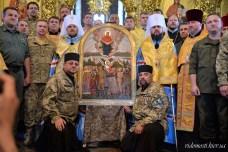 26 липня 2017 - освячення ікони Покрови Воїнської (Фото: vidomosti.kiev.ua)