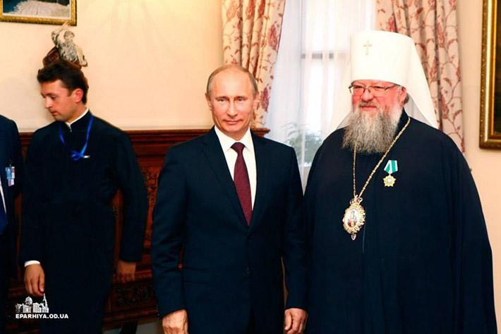 Путін та Іларіон (Шукало)
