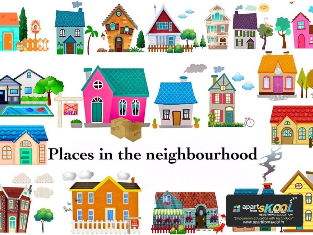 medium resolution of Places In My Neighborhood Worksheet   Printable Worksheets and Activities  for Teachers