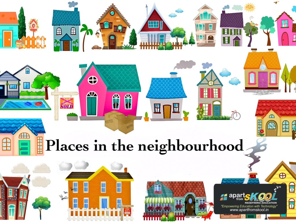 hight resolution of Places In My Neighborhood Worksheet   Printable Worksheets and Activities  for Teachers