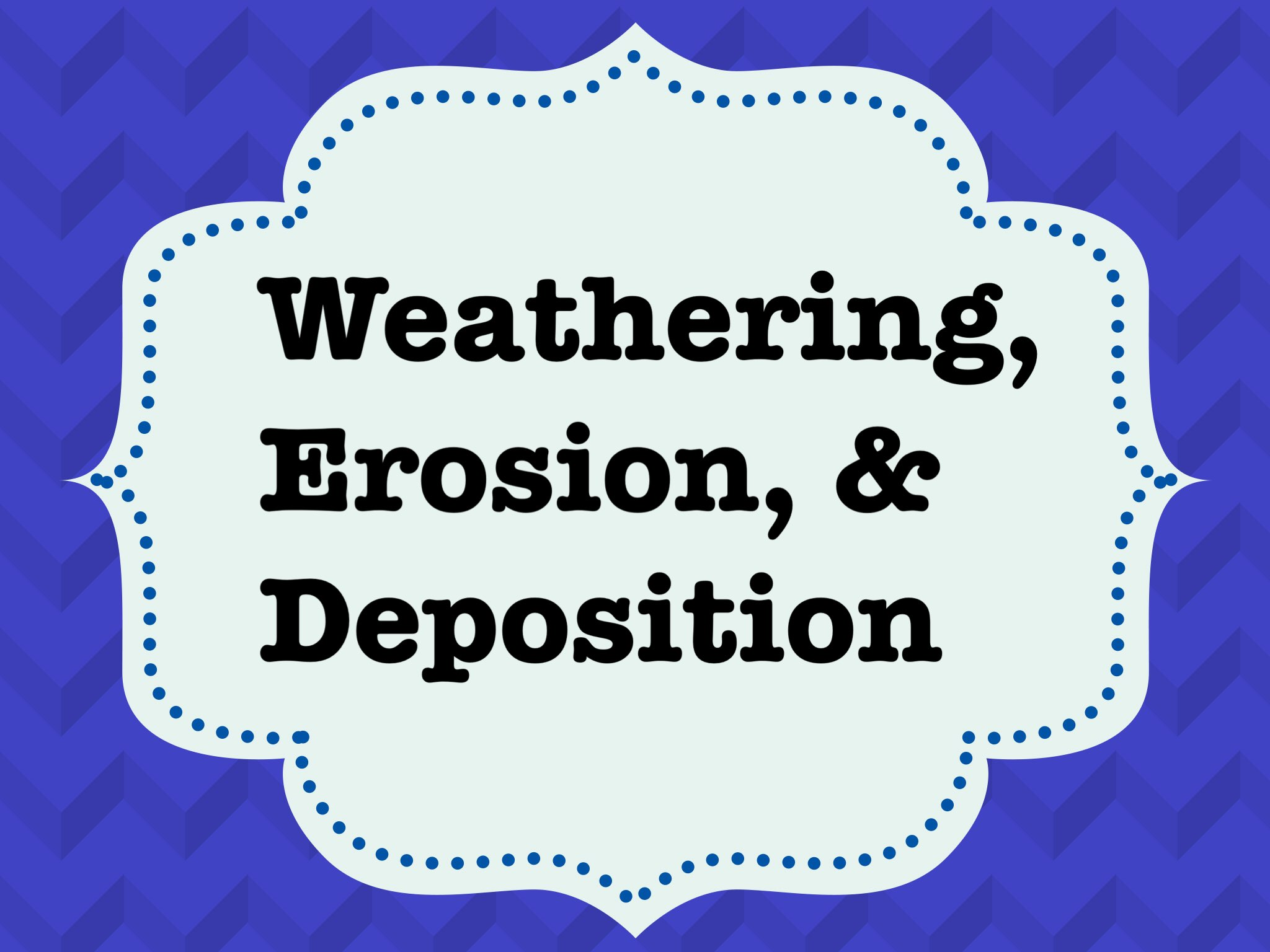 Play Weathering Erosion And Deposition By Leslie