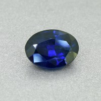 Deep Blue Sapphire 1.41 Ct Would look awesome in a