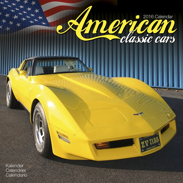 American Classic Cars Calendar 2016 Pet Prints