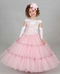 Beautiful Prom Dresses Children Toddler Ball Gown Formal