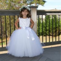 Puffy Flower Girl Dresses For Toddlers,First Communion ...