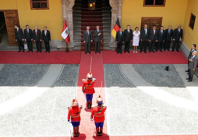 Frank-Walter Steinmeier in Peru
