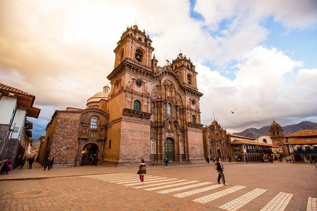 Das historische Zentrum von Cuzco!