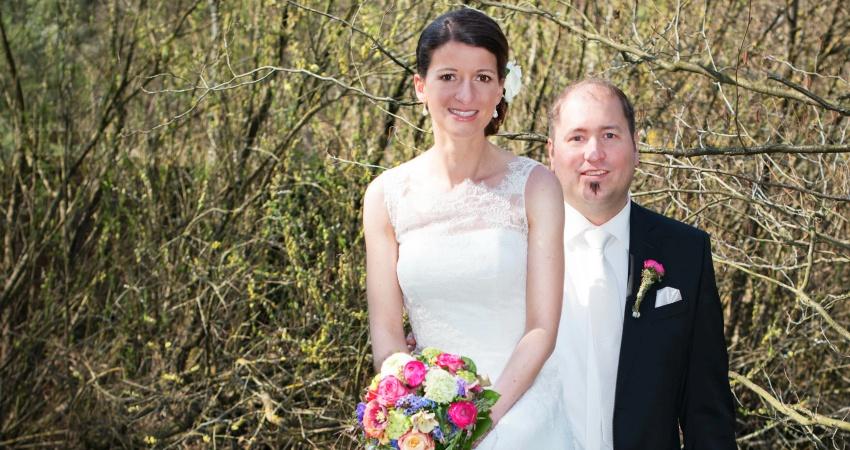 Simon und Steffi sind mittlerweile verheiratet.
