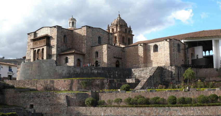 Das Kloster Santo Domingo in Cusco.
