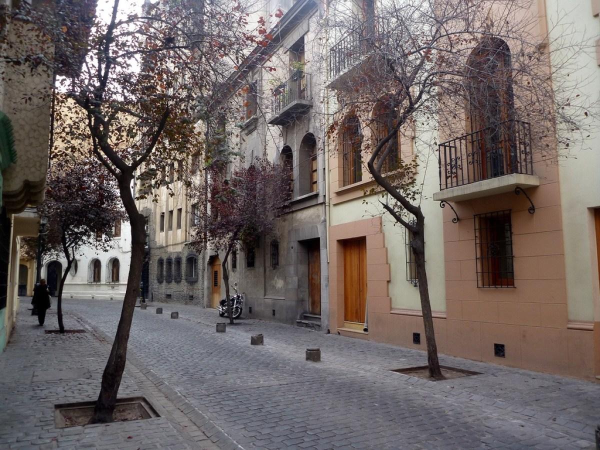 Santiago de Chile Sehenswürdigkeiten: Barrio Paris-Londres, Quelle: Flickr.