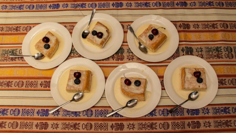 Mhmm, frische Torta Tres Leches!