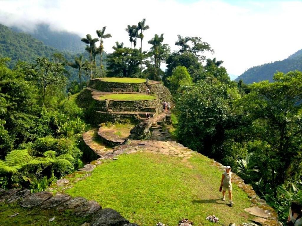 Kolumbien Sehenswürdigkeiten: Die verlorene Stadt Kolumbiens... Quelle: viventura.