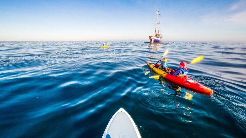 Wie gemacht für Abenteurer: Wasseraktivitäten auf Galapagos.