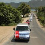 020. Procession from airport to Farea ki VETE