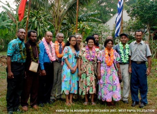West Papua delegation