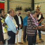 049. Gift Exchange, Jacob Rumbiak, Maraki Vanuariki Council of Chiefs, Port Vila 29 Nov 2007