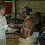 053. Gift Exchange, Chief Shem Rurua, Australia West Papua Assoc (WA)