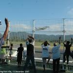 061. West Papua delegation leaving Port Vila