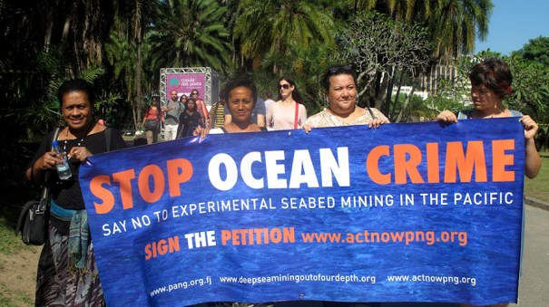 No seabed mining (Michael Main)