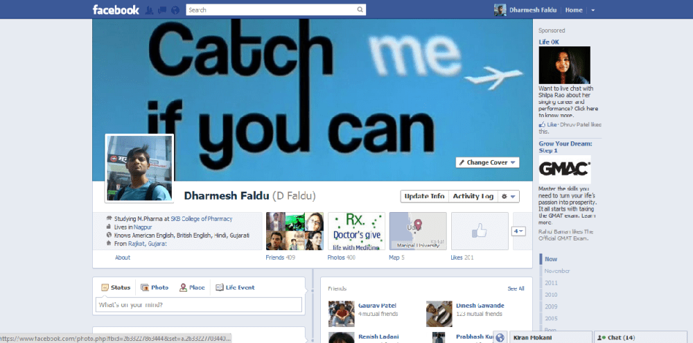 Now 'Timeline' on your Facebook Profile!!... Biggest Redesign Ever