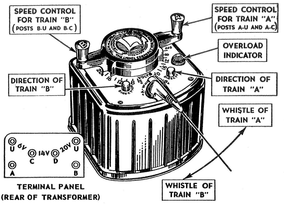 Wiring Diagram For Lionel Transformer