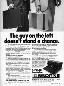 Adam Osborne's portable computer