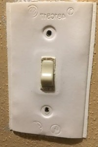 Insulating electrical outlets