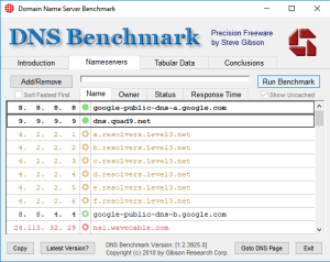 finding the best public DNS